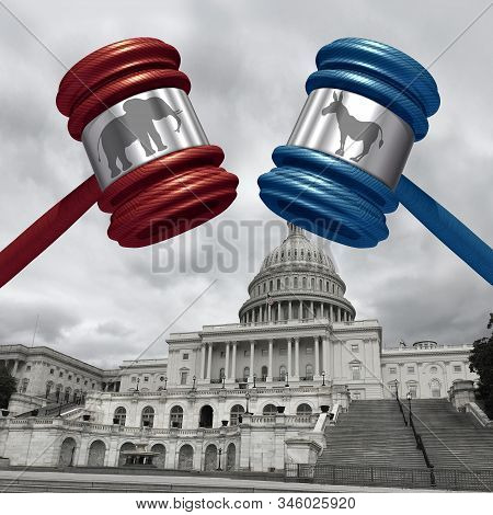 Impeachment Trial And Impeaching The American President As Congress And Law In The United States Wit