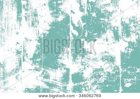 Distressed Spray Green Grainy Back Texture. Grunge Dust Messy Background. Dirty Powder Rough Empty C