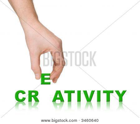 Hand And Word Creativity