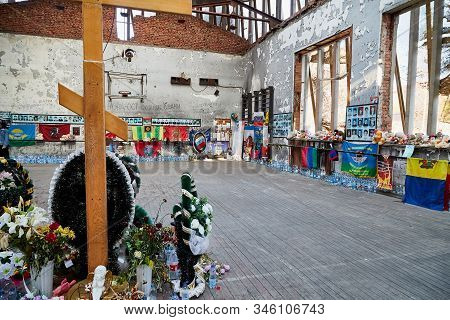 Beslan, Russia - October 25, 2019: Memorial For Memory Of The Dead People Who Were Captured By Terro