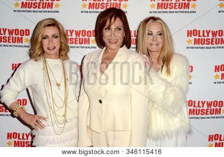 LOS ANGELES - JAN 18:  Donna Mills, Michele Lee, Joan Van Ark at the 40th Anniversary of