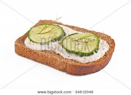 Sandwich With Cucumber