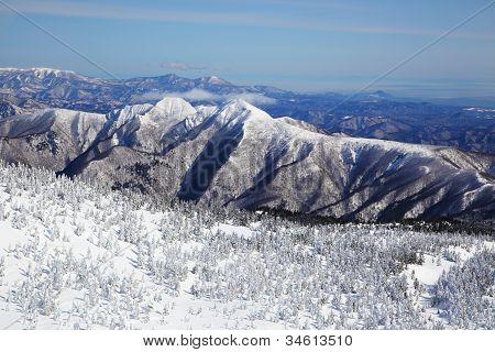 Soft Rime, Mt.zao In Japan