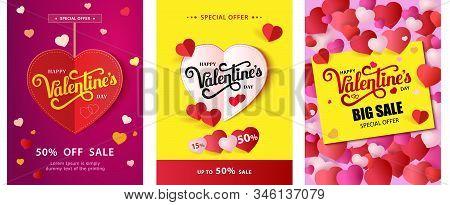 Design Flyer Happy Valentine S Day. 50 Off Sale.