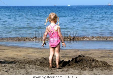 Girl At The Beach