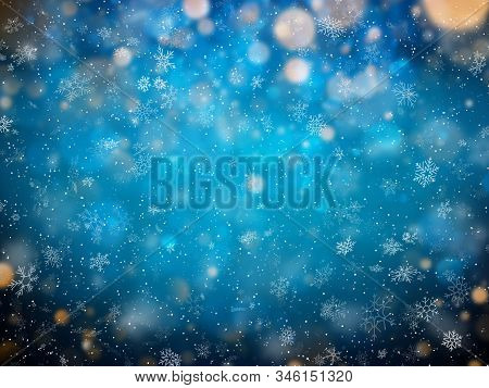Abstract Christmass Winter Background. New Year Colorful Celebration Template. Eps 10