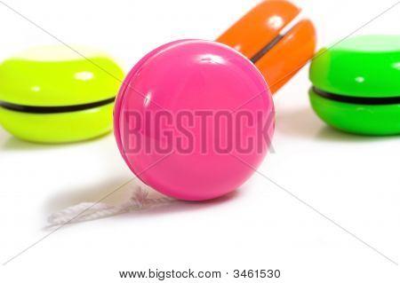 Multi-Color Yo-Yo'S