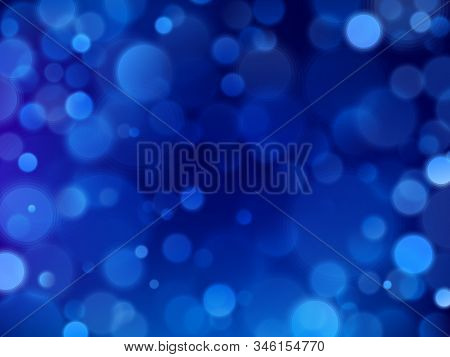 Blue Bokeh Glitter Texture Glitter Abstract Background. Eps 10