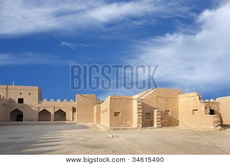 Rooms in the southern portion of Riffa fort Bahrain