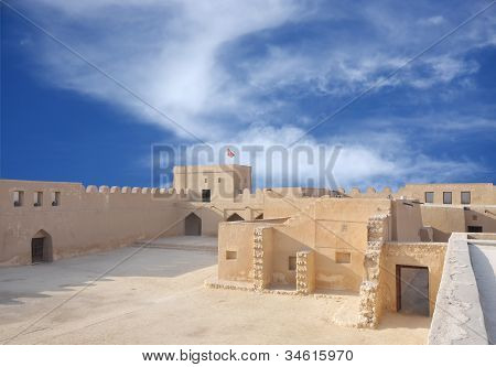 Riffa fort is historical fort built by Shaikh salman bin Ahmed Al Khalifa in 1812 on the remains of an old 17th century fort poster