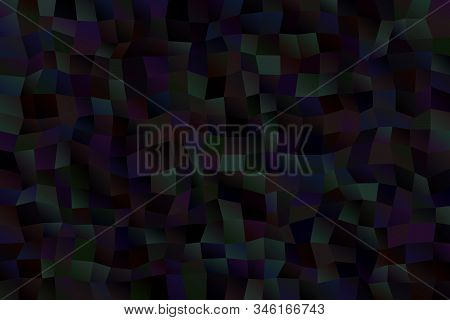 Gradient Polygon Web Background - Abstract Vector Graphic Design From Rectangles