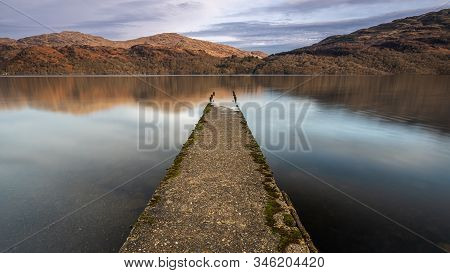 Old Jetty At Loch Lomond