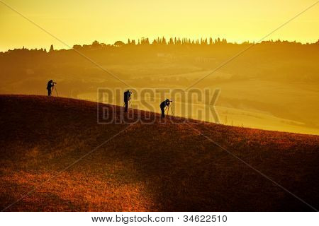 Photographers and Landscape in Tuscany