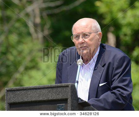 John Dingell At Memorial Day Observance