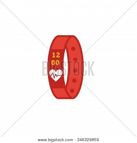Sport Bracelet Icon. Flat Creative Element From Visual Device Icons Collection. Colored Sport Bracel