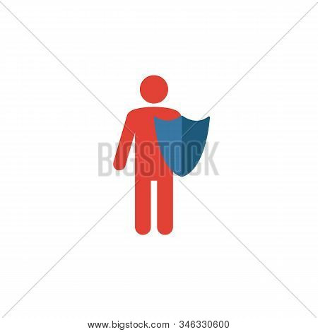 Reliability Icon. Flat Creative Element From Business Ethics Icons Collection. Colored Reliability I