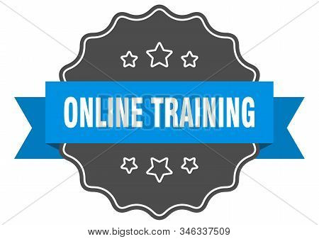 Online Training Blue Label. Online Training Isolated Seal. Online Training