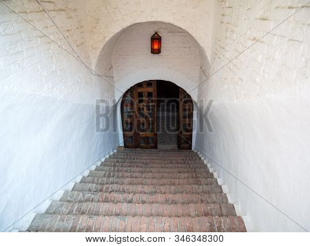 Descent To The Basement Of The Powder Cellar Of The Azov Fortress