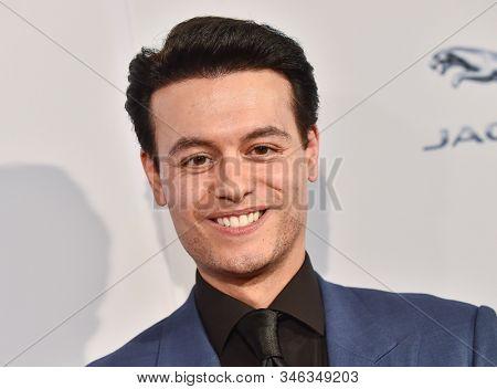 LOS ANGELES - JAN 04:  Nick Halli arrives for the  BAFTA Los Angeles Tea Party 2020 on January 04, 2020 in Los Angeles, CA