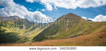 Wolowiec And Lopata In Western Tatra Mountains - Summer Scenery In Hills