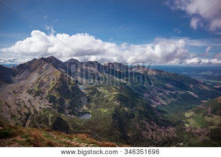 Rohacske Plesa - 4 Small Mountain Lakes In Slovakian Part Of Tatra Mountains Range