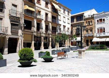 Ubeda, Spain - July 28, 2008 - The Plaza De Andalucia (main Square), Ubeda, Andalucia, Spain - July