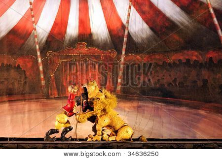 Karromato wooden circus at Bahrain, June 29, 2012