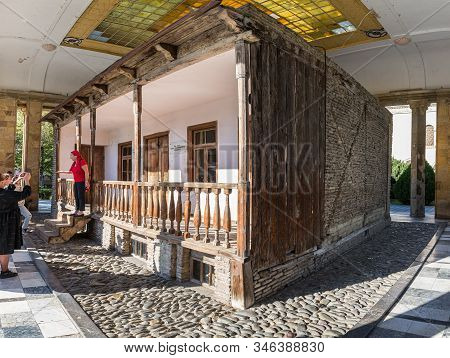 Gori, Georgia, October 13, 2019 : The House Where Stalin Was Born On The Territory Of The Stalin Mus