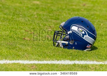 November 25, 2018 - The visiting Seattle Seahawks take on the Carolina Panthers at Bank Of America Stadium in Charlotte, NC.  The Panthers lose to the Seahawks, 30-27.