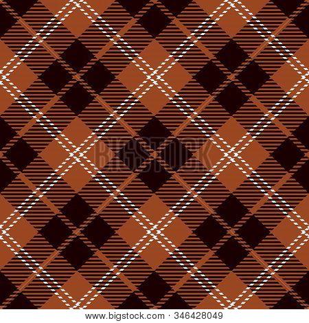 Cinnamon Stick Tartan  Plaid  Seamless Pattern. Flannel  Shirt Tartan Patterns. Trendy Tiles Vector