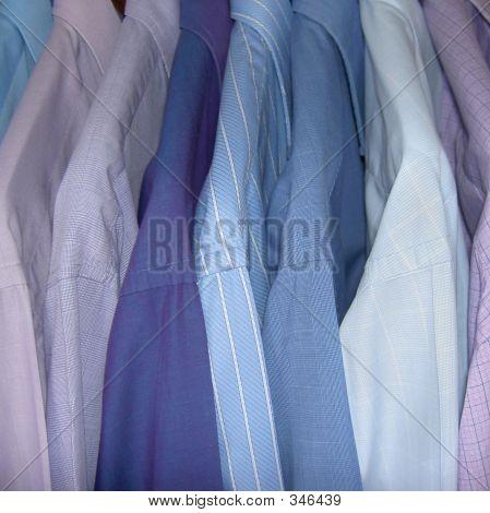 Freshly Ironed Shirts