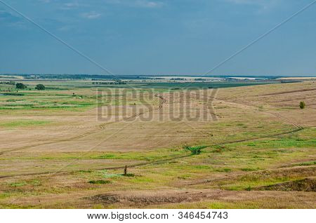 Autumn Landscape, Screensaver, View Of The Fields