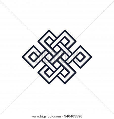 Scandinavian Viking Square Symbol Design, Religion Culture Belief Religious Faith God Spiritual Medi
