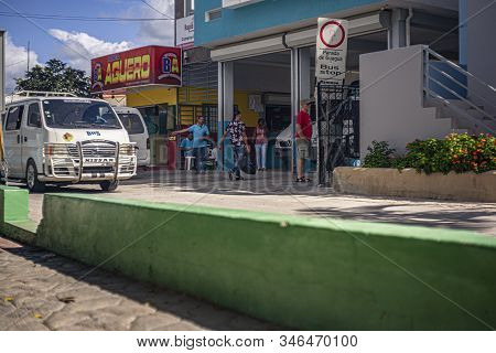 Bus Stop In Bayahibe 4