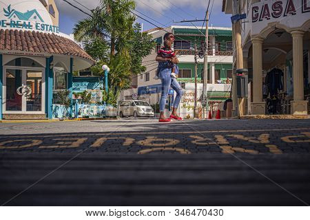 Scene Of Daily Life In The Town Of Bayahibe 20