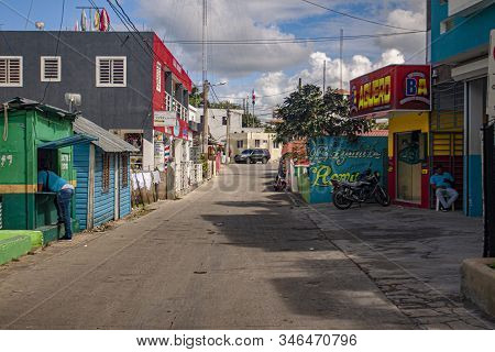 Scene Of Daily Life In The Town Of Bayahibe 27
