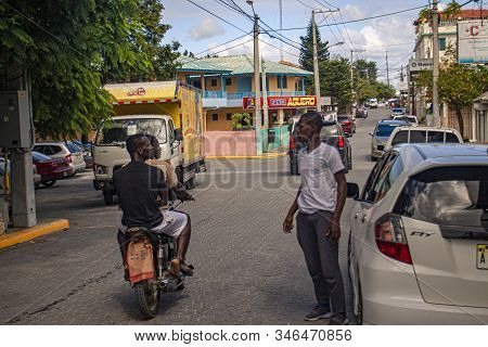 Scene Of Daily Life In The Town Of Bayahibe 26