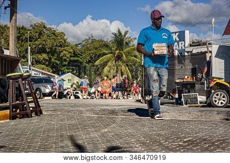 Scene Of Daily Life In The Town Of Bayahibe 32