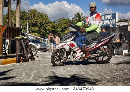 Scene Of Daily Life In The Town Of Bayahibe 33