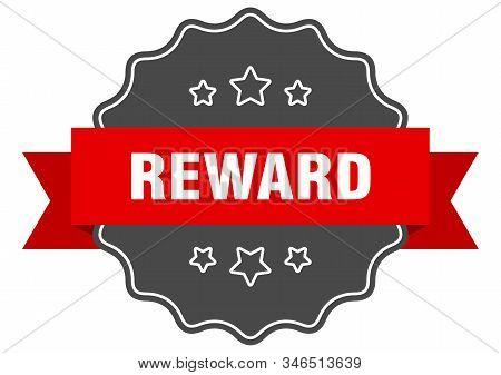 Reward Red Label. Reward Isolated Seal. Reward