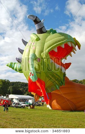 Hot air balloon, Bristol International Balloon fiesta
