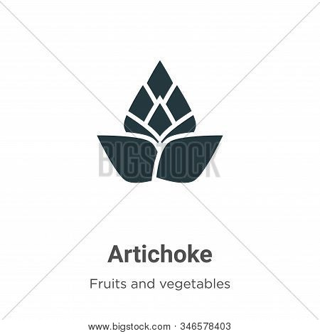 Artichoke icon isolated on white background from fruits collection. Artichoke icon trendy and modern
