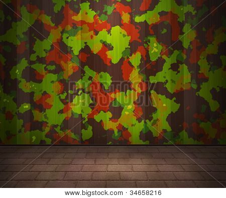 Army Interior Background
