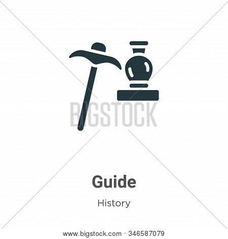 Guide icon isolated on white background from history collection. Guide icon trendy and modern Guide