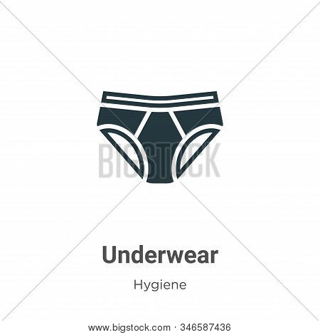Underwear icon isolated on white background from hygiene collection. Underwear icon trendy and moder