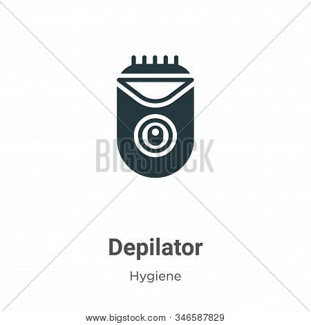Depilator icon isolated on white background from hygiene collection. Depilator icon trendy and moder