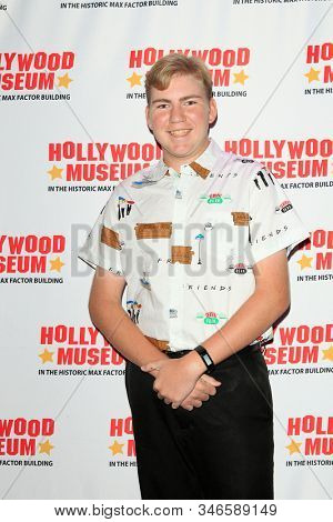 LOS ANGELES - JAN 18: Connor Dean at the Hollywood Museum's celebration for the 40th Anniversary of