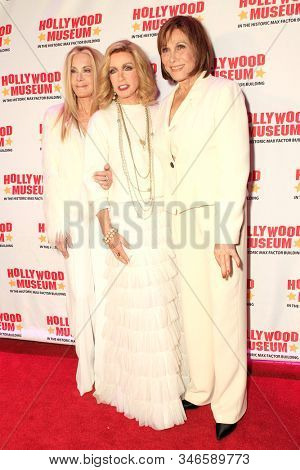 LOS ANGELES - JAN 18: Joan Van Ark, Donna Mills, Michele Lee at the Hollywood Museum's celebration for the 40th Anniversary of