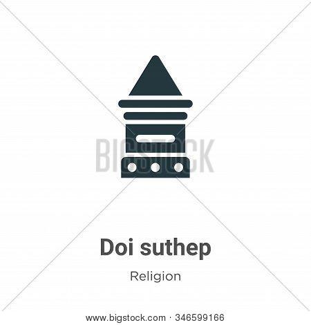 Doi suthep icon isolated on white background from religion collection. Doi suthep icon trendy and mo
