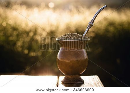 Chimarrão, Or Mate, Is A Characteristic Drink Of The Culture Of